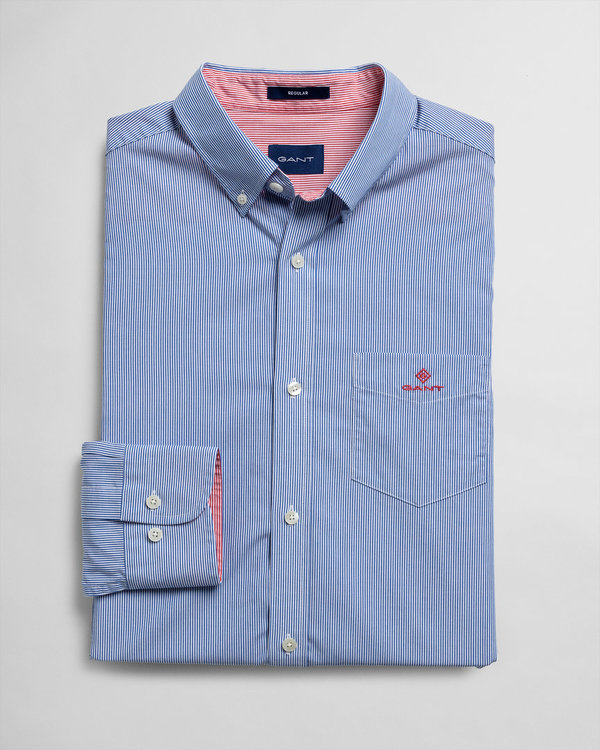 Gant, D1.BC MICRO STRIPE REG BD, NAUTICAL BLUE