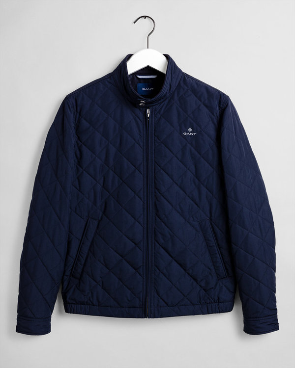 Gant, D1.The Quilted Windcheater, Evening Blue